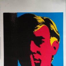 Arte: ANDY WARHOL: AUTORRETRATO, SERIGRAFÍA, 1967. Lote 144493238