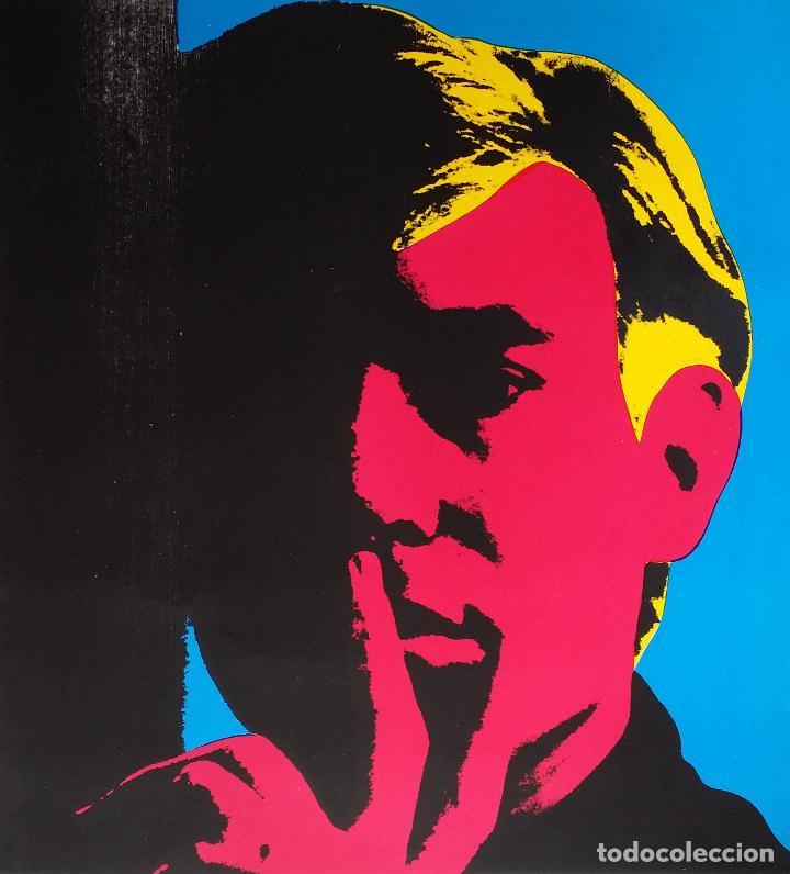 Arte: Andy WARHOL: Autorretrato, serigrafía, 1967 - Foto 2 - 144493238
