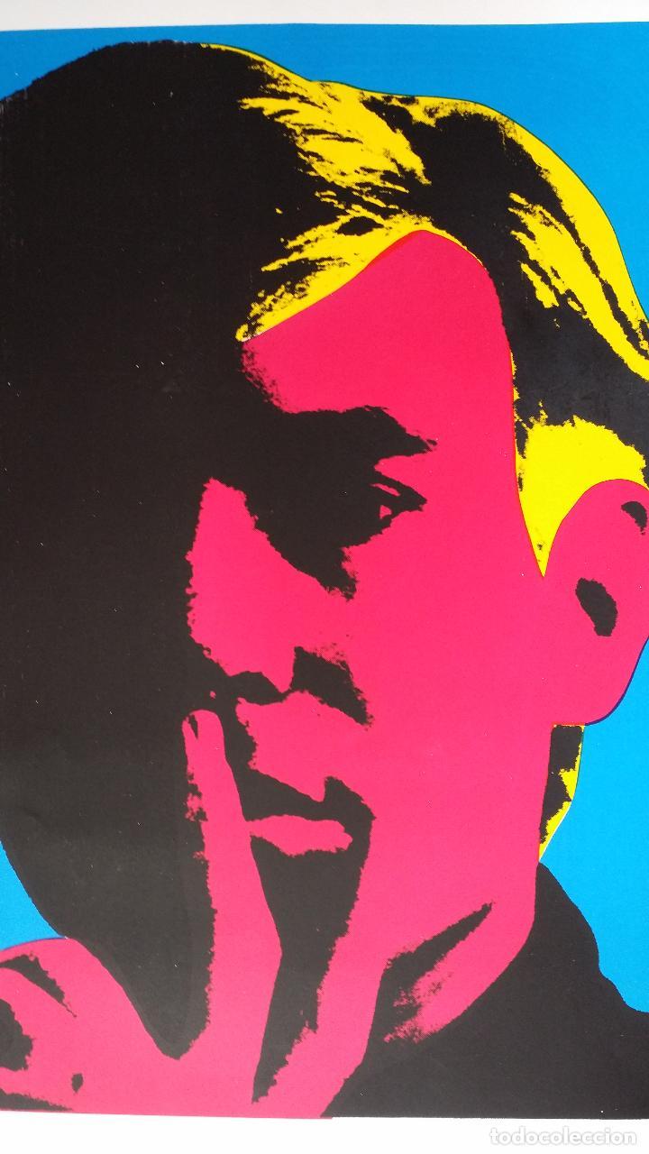 Arte: Andy WARHOL: Autorretrato, serigrafía, 1967 - Foto 3 - 144493238