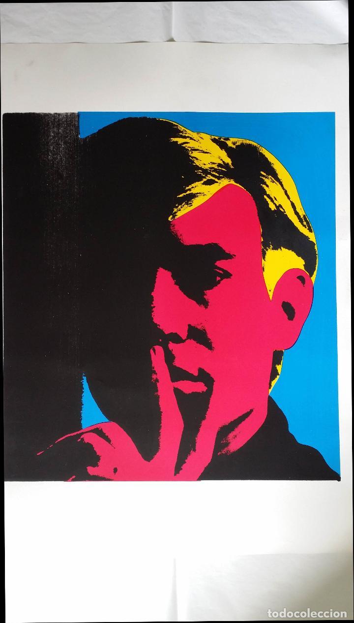 Arte: Andy WARHOL: Autorretrato, serigrafía, 1967 - Foto 5 - 144493238