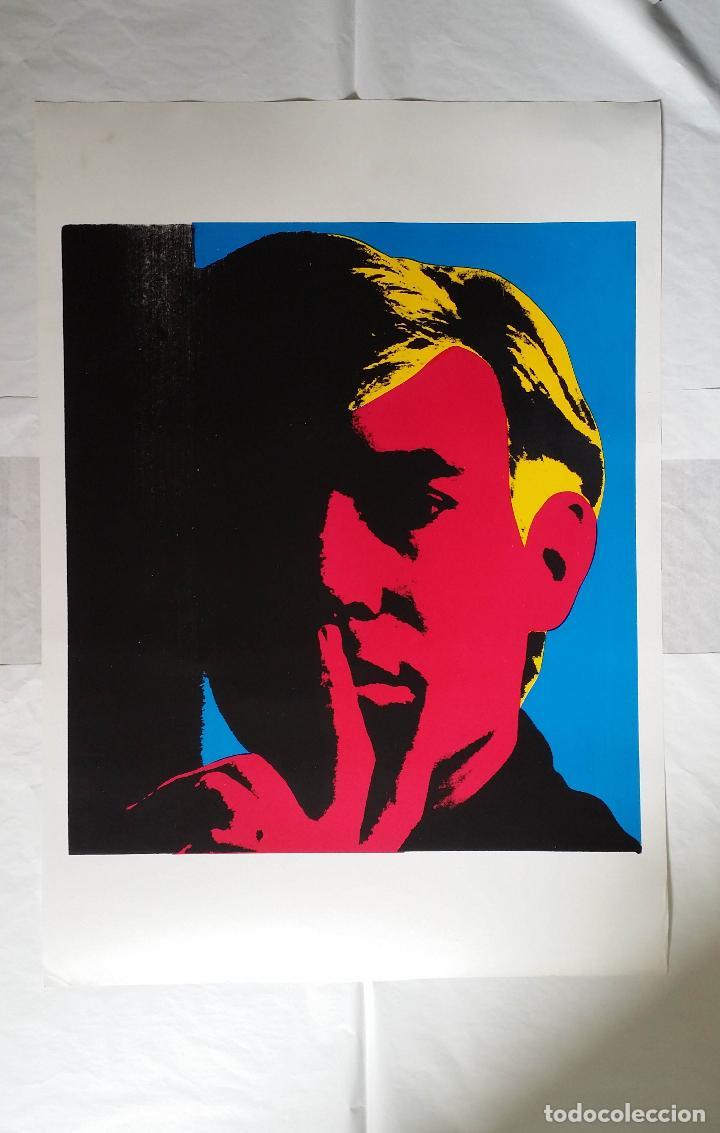 Arte: Andy WARHOL: Autorretrato, serigrafía, 1967 - Foto 10 - 144493238