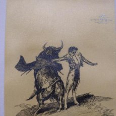 Arte: TOROS Y TOREROS - MARTINEZ DE LEON. Lote 144560918