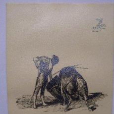 Arte: TOROS Y TOREROS - MARTINEZ DE LEON. Lote 144561042