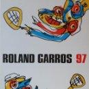 Arte: ANTONIO SAURA: SERIGRAFÍA FIRMADA Y NUMERADA /+ CARTEL / ROLLAND GARROS/ PARÍS, 1997. Lote 144598258