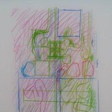 Arte: HERMANN NITSCH, TÉCNICA MIXTA, FIRMADO Y NUMERADO, 2015. Lote 144795042