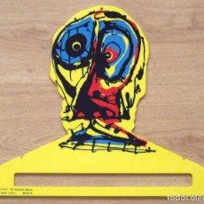Arte: ANTONIO SAURA. PERCHA DE COLOR AMARILLO. EDICIONES DIART. MADRID. 1982. 34X41 CM. SERIGRAFÍA.. Lote 133171155