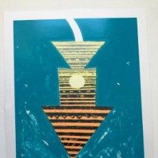 Arte: GUIDO KUCZNIERZ , SERIGRAFIA FIRMADA Y NUMERADA . Lote 145810986