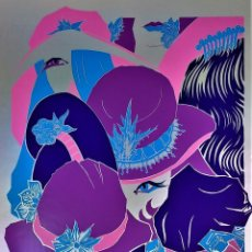 Arte: FEMININ PLURIEL. SERIGRAFIA MANUAL. FIRMADO J.P. KOLASSINSKI. ED. IMPACT. FRANCIA(?) 1973. Lote 146526614