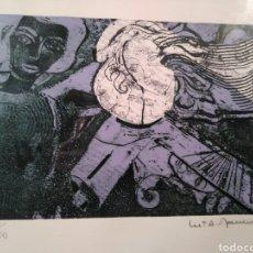 Arte: MA ASUNCIÓN RAVENTOS - LA VENUS NEGRA FIRMADA Y NUMERADA. Lote 146742225