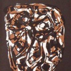 Arte: SERIGRAFÍA ORIGINAL ANTONIO SAURA. PORTADA CORREO DE LAS ARTES Nº 32. 1961. BUEN ESTADO.. Lote 184877723