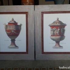 Arte: BELLÍSIMA PAREJA DE SERIGRAFÍAS ITALIANAS .. Lote 150011906
