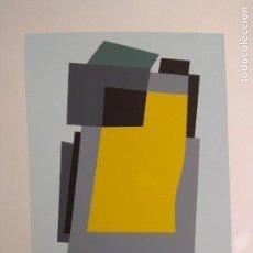 Arte: SERIGRAFIA DE VICENTE CASTELLANO GINER VANGUARDIAS AÑOS 50 MIEMBRO FUNDADOR DEL GRUPO PARPALLO.. Lote 151016510