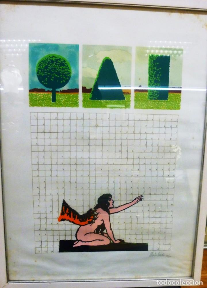 ALBERO CORAZÓN SERIGRAFIA (Arte - Serigrafías )