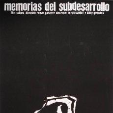 Arte: ANTONIO SAURA: MEMORIAS DEL SUBDESARROLLO, SERIGRAFIA / ICAID, 1968 / MUY RARO. Lote 151209386