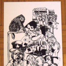 Arte: DAVID FERRERA ROVIRA. SERIGRAFÍA AMERICAN WAY OF LIFE. 35X25 CM. FIRMADA A MANO. NUMERADA 14/100.. Lote 151363158