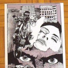 Arte: RAUL NÚÑEZ MORALES. SERIGRAFÍA LA MOTO. 35X25 CM. FIRMADA A MANO. NUMERADA 14/100. 1994.. Lote 151364550