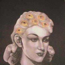 Arte: MARINA NÚÑEZ, SIN TÍTULO (LA LOCURA) SERIGRAFÍA. Lote 151512886