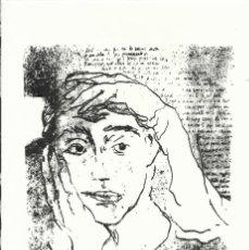 Arte: ABRAHAM MOHINO BALET. FIRMADA A MANO. NUMERADA 27/60. 26X18 CM. 1994. PAPEL GUARRO DE CALIDAD.. Lote 151631302