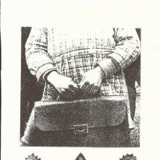 Arte: GEMMA PONT MONSÓ. LA NIÑA. FIRMADA A MANO. NUMERADA 27/60. 26X18 CM. 1994. PAPEL GUARRO.. Lote 151632158