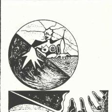 Arte: MARÍA JOSÉ CARRASCO. LA MANO. FIRMADA A MANO. NUMERADA 27/60. 26X18 CM. 1994. PAPEL GUARRO.. Lote 151633662