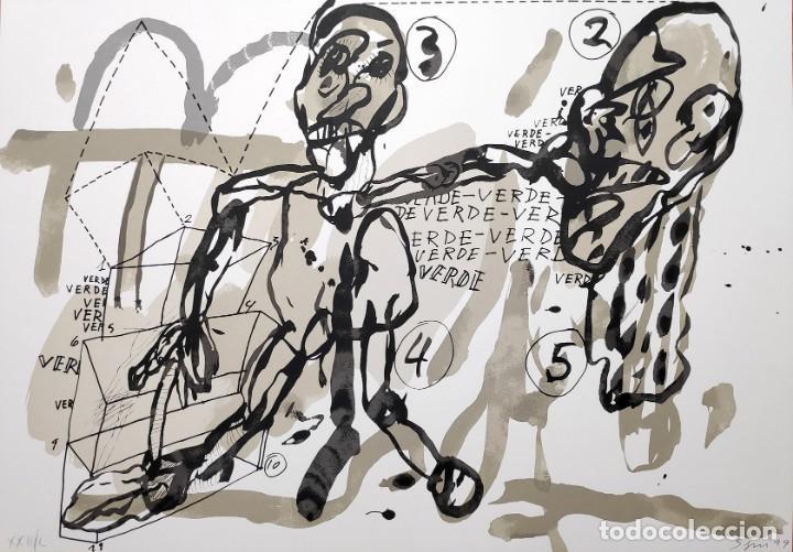ANTONIO SEGUI - SERIGRAFÍA 49X68 CM FIRMADA LÁPIZ Y NUMERADA (Arte - Serigrafías )