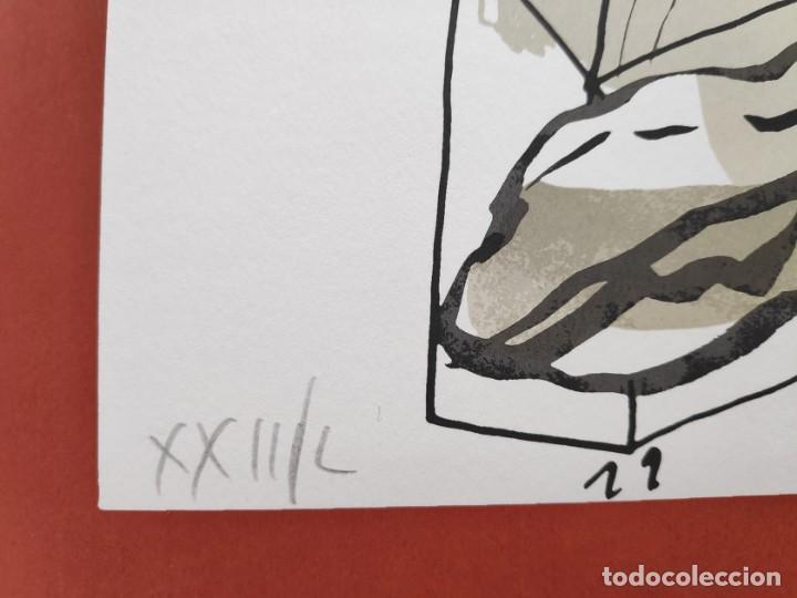 Arte: Antonio Segui - serigrafía 49x68 cm firmada lápiz y numerada - Foto 3 - 152171486