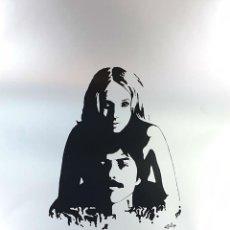 Arte: PAREJA. SERIGRAFÍA MANUAL. CONTRASE. GILLY FRANÇOIS. EDIT. IMPACT. FRANCIA. 1973. . Lote 153319218