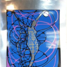 Arte: REFLET. SERIGRAFÍA MANUAL A COLOR. LE RABO. EDIT. IMPACT. FRANCIA. 1974. Lote 153322378