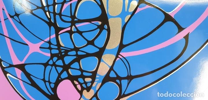 Arte: REFLET. SERIGRAFÍA MANUAL A COLOR. LE RABO. EDIT. IMPACT. FRANCIA. 1974 - Foto 3 - 153322378
