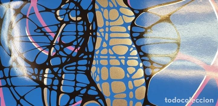 Arte: REFLET. SERIGRAFÍA MANUAL A COLOR. LE RABO. EDIT. IMPACT. FRANCIA. 1974 - Foto 5 - 153322378