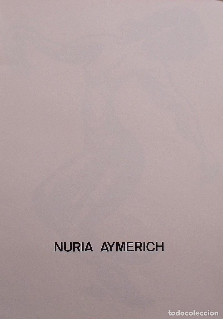 Arte: Núria Aymerich. Silueta femenina. Numerada 44/60. Firmada a mano. 1991. 36x25 cm. Papel Guarro. - Foto 2 - 153334574