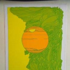 Arte: ARTISTA DESCONOCIDO SERIGRAFÍA 1973 FIRMADA Y 2/25 DE 39X36 PAPEL 41X29CMS. PERFECTO. Lote 154259142