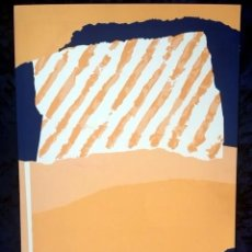 Arte: SERIGRAFIA VAQUERO TURCIOS - FIRMADA - 1986. Lote 154775670