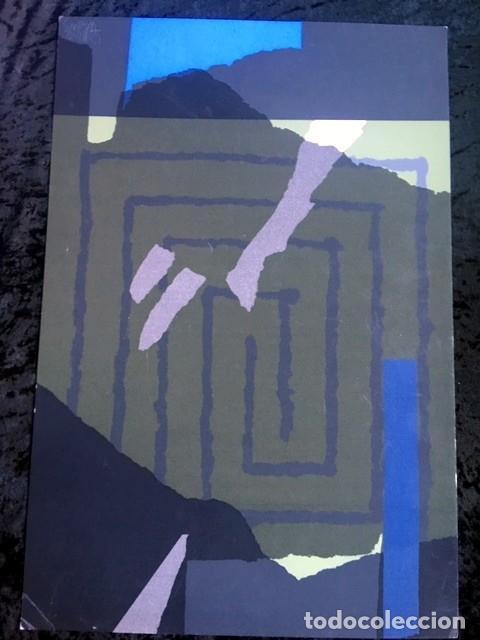 SERIGRAFIA VAQUERO TURCIOS - FIRMADA - 1986 (Arte - Serigrafías )