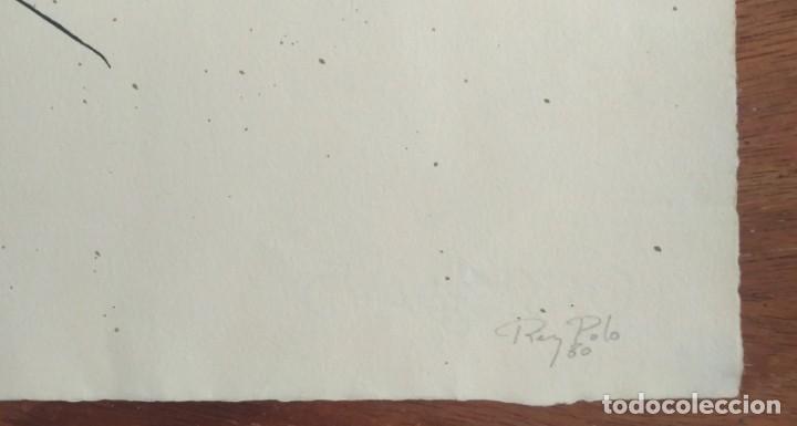 Arte: Rey Polo, serigrafía original firmada y numerada a lápiz. - Foto 3 - 155617870