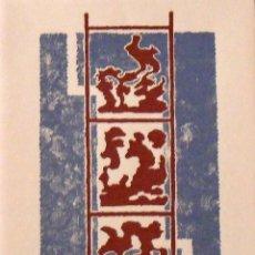 Arte: MARIA TERESA MARCH. ABSTRACTE. ABSTRACTO. SERIGRAFÍA FIRMADA A MANO Y NUMERADA 81/180. 1998.. Lote 156296250