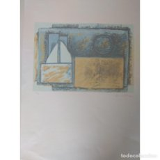 Arte: SERIGRAFIA DE VICENTE CASTELLANO GINER VANGUARDIAS AÑOS 50 MIEMBRO FUNDADOR DEL GRUPO PARPALLO.. Lote 157339926
