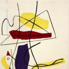 Arte: WILLY MUCHA (VARSOVIA 1905 - PARÍS 1995) - SERIGRAFIA - .COMPOSICIÓN. ED. DANIEL JACOMET. Lote 157695482