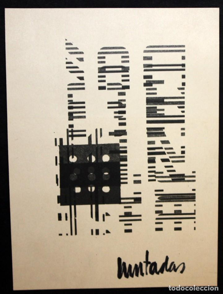 ANTONI MUNTADAS - SERIGRAFIA - COMPOSICIÓN - ARTE MEDIATICO Y CONCEPTUAL. (Arte - Serigrafías )