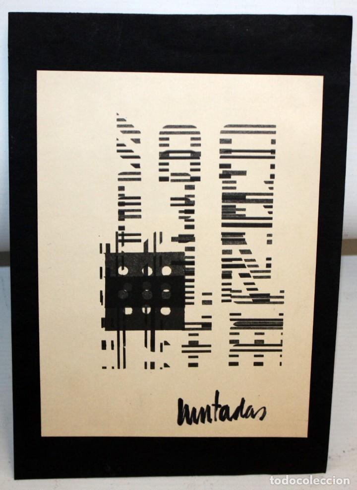 Arte: ANTONI MUNTADAS - SERIGRAFIA - COMPOSICIÓN - ARTE MEDIATICO Y CONCEPTUAL. - Foto 3 - 157697602