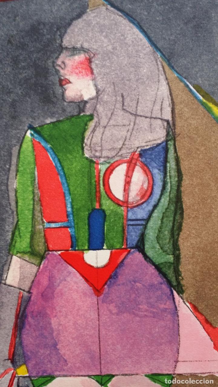 Arte: Richard Lindner: Super Girl, serigrafía de 1968 - Foto 6 - 158023806