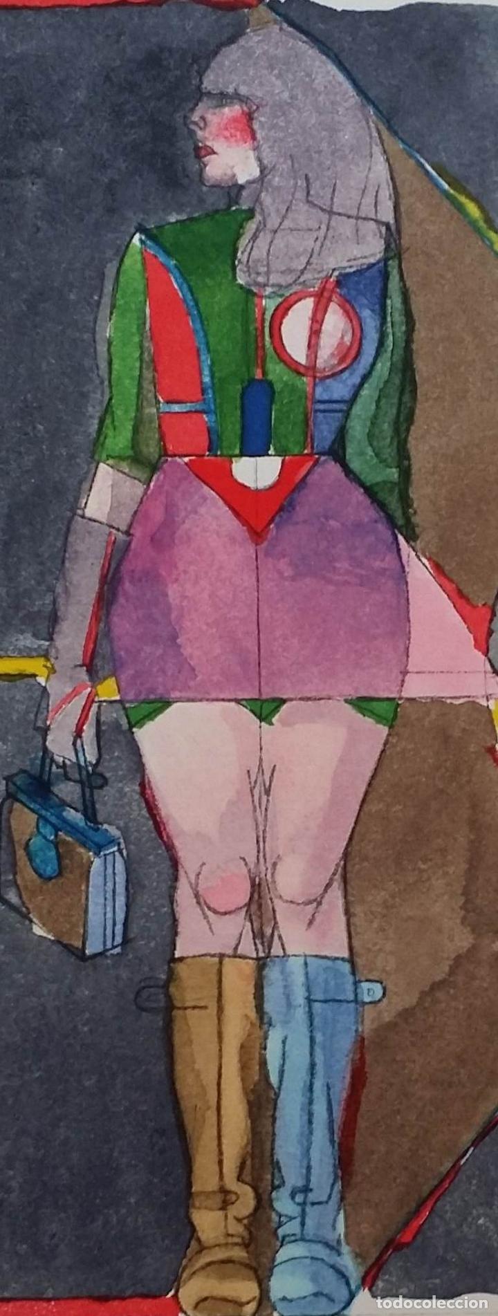 Arte: Richard Lindner: Super Girl, serigrafía de 1968 - Foto 5 - 158023806