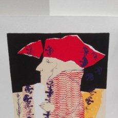 Arte: NATALIO BAYO, SERIGRAFÍA ORIGINAL NUMERADA Y FIRMADA,50X35.. Lote 158755594