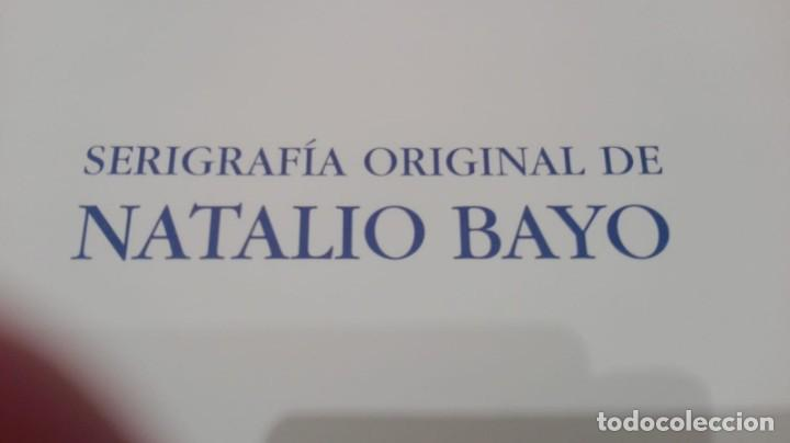 Arte: Natalio bayo, serigrafía original numerada y firmada,50x35. - Foto 3 - 158755594