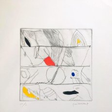 Arte: JOSEP GUINOVART - SERIGRAFÍA 49X68 CM FIRMADA LÁPIZ Y NUMERADA. Lote 159645426