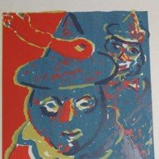 Arte: SERIGRAFIA ORIGINAL 3/50 FIRMADA DE SANDRO 70 X 50 CMS. Lote 159697398