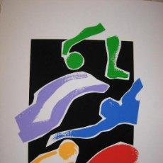 Arte: 4 SÉRIES DE DUES LÀMINES IMPRESES EN SERIGRAFIA I NUMERADES DE L`1 AL 2OO. Lote 159778690