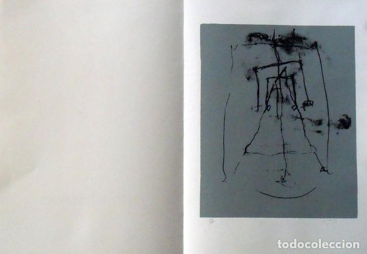 Arte: Hugo Solschak. Serigrafía Abstracción. Numerada 11/60. Firmada a mano. 1991. 36x25 cm. Papel Guarro. - Foto 3 - 160414186