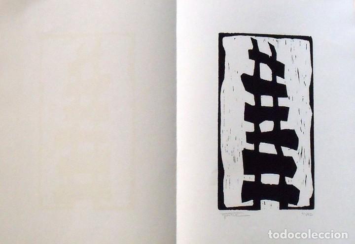 Arte: Montse Gasull. Serigrafía Abstracción. Numerada 11/60 Firmada a mano. 1991. 36x25 cm. Papel Guarro. - Foto 3 - 160415210