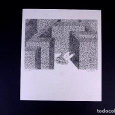 Arte: SERIGRAFÍA DE ABI LAZKOZ. BILBAO ARTE. Lote 160802094
